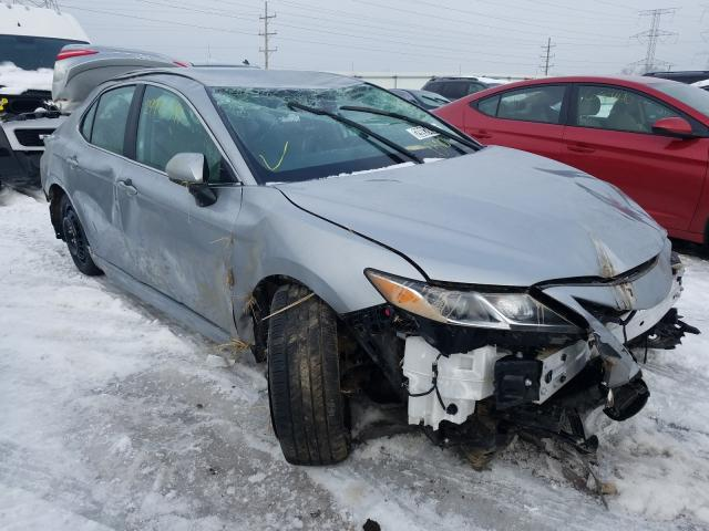 Salvage cars for sale from Copart Elgin, IL: 2020 Toyota Camry SE