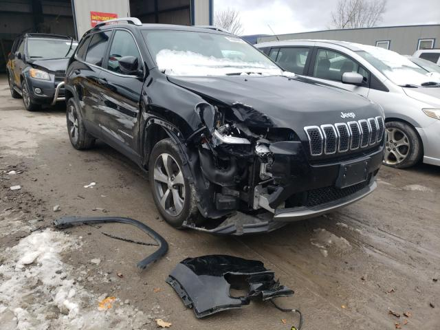 Salvage cars for sale from Copart Duryea, PA: 2019 Jeep Cherokee L