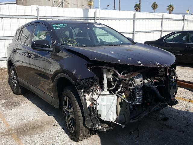 Salvage cars for sale from Copart Wilmington, CA: 2018 Toyota Rav4 LE