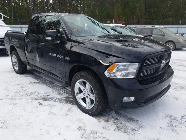 Salvage cars for sale from Copart Lyman, ME: 2012 Dodge RAM 1500 S