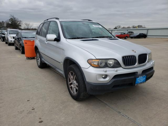 Salvage cars for sale from Copart Wilmer, TX: 2005 BMW X5 3.0I