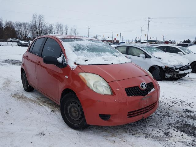 Toyota Yaris salvage cars for sale: 2006 Toyota Yaris