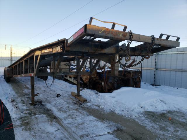 Salvage cars for sale from Copart Nisku, AB: 2002 Utility Trailer