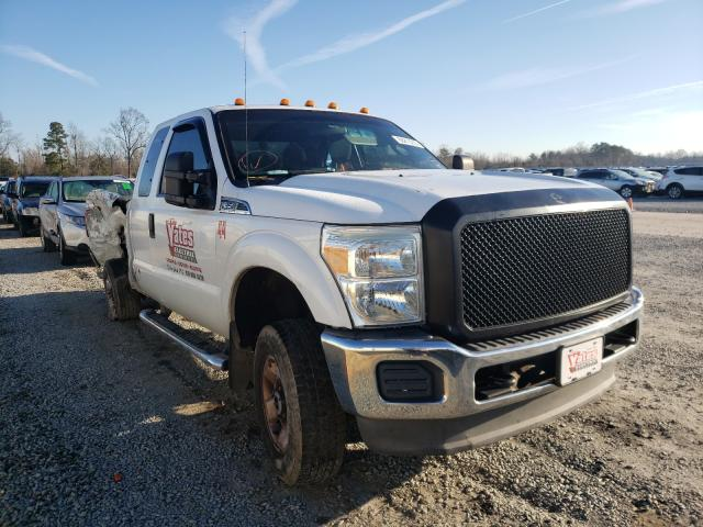 Salvage cars for sale from Copart Lumberton, NC: 2011 Ford F250 Super