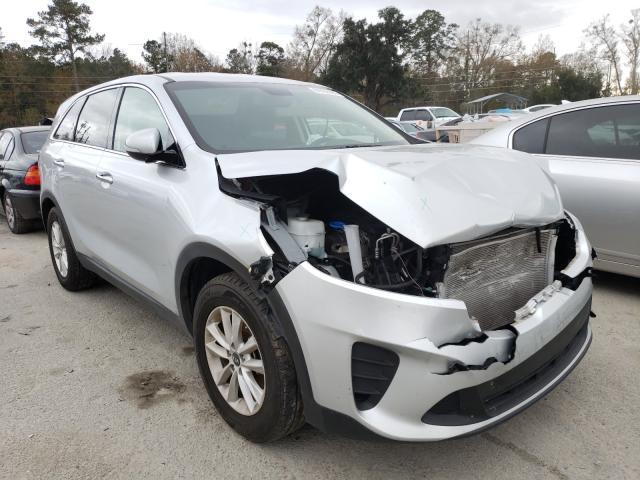 Salvage cars for sale from Copart Savannah, GA: 2019 KIA Sorento L