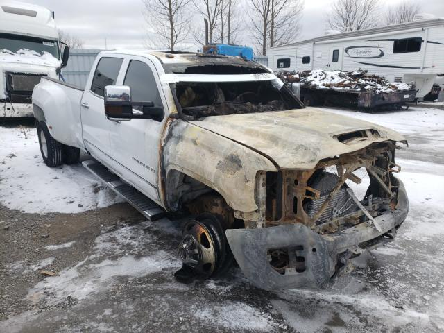 Salvage cars for sale from Copart Courtice, ON: 2019 GMC Sierra K35