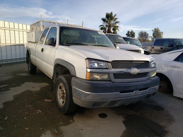 Salvage cars for sale from Copart Martinez, CA: 2004 Chevrolet Silverado