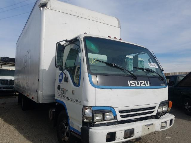 Salvage cars for sale from Copart Rancho Cucamonga, CA: 2003 Isuzu NPR