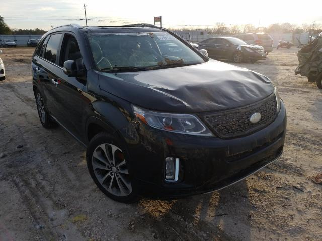 Salvage cars for sale from Copart Newton, AL: 2015 KIA Sorento SX