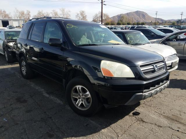 Salvage cars for sale from Copart Colton, CA: 2005 Honda Pilot EX