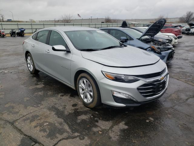 Salvage cars for sale from Copart Tulsa, OK: 2020 Chevrolet Malibu LT