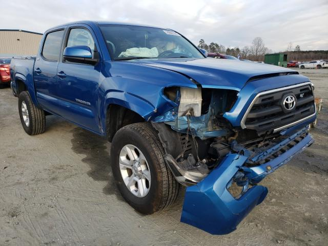 Salvage cars for sale from Copart Spartanburg, SC: 2016 Toyota Tacoma DOU