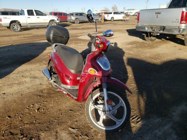 Salvage cars for sale from Copart Brighton, CO: 2007 Kymco Usa Inc People 150
