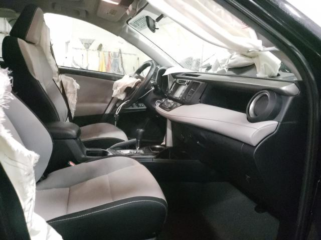 2016 TOYOTA RAV4 XLE - Left Rear View