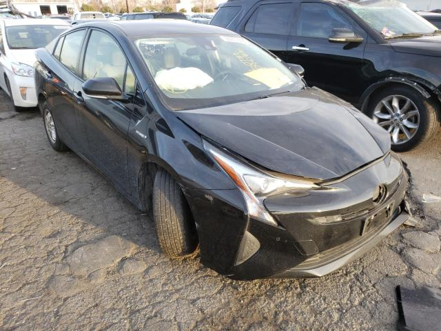 Salvage cars for sale from Copart Colton, CA: 2017 Toyota Prius