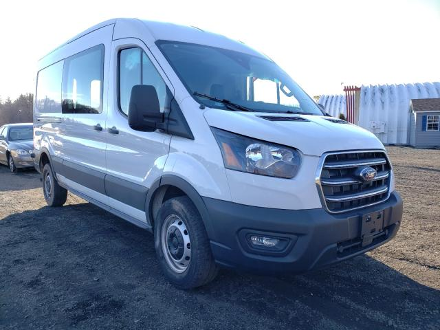 Salvage cars for sale from Copart East Granby, CT: 2020 Ford Transit