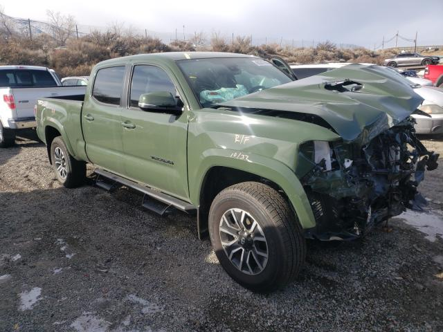 Salvage cars for sale from Copart Reno, NV: 2021 Toyota Tacoma DOU