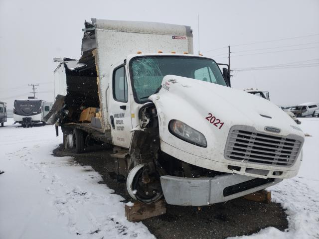 Salvage cars for sale from Copart Helena, MT: 2017 Freightliner M2 106 MED