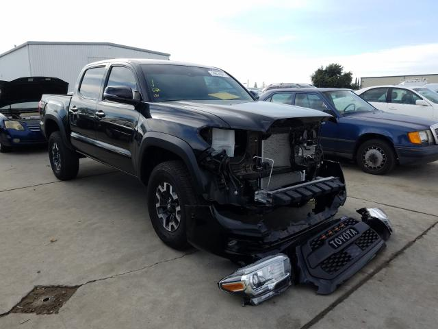 Salvage cars for sale from Copart Sacramento, CA: 2019 Toyota Tacoma DOU