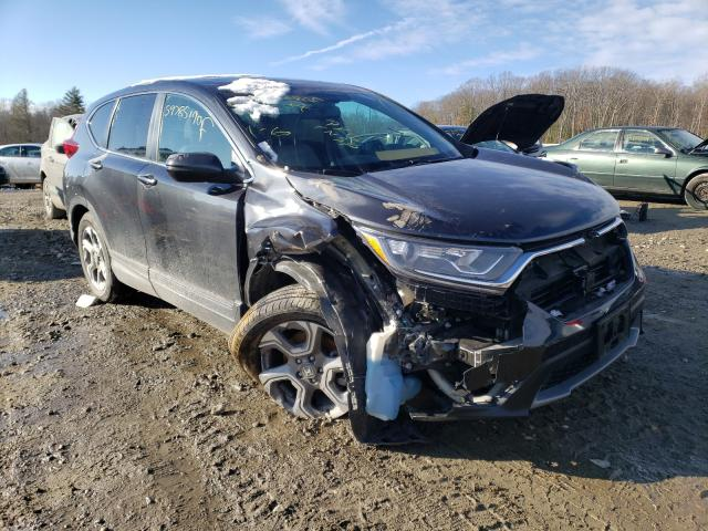 Salvage cars for sale from Copart West Warren, MA: 2019 Honda CR-V EXL