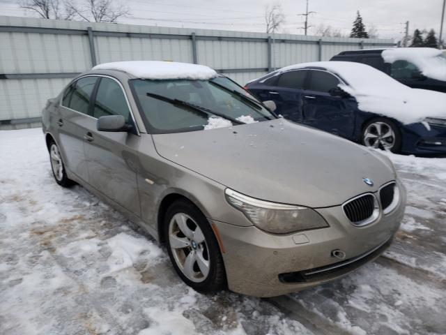 Salvage cars for sale from Copart Lansing, MI: 2008 BMW 528 I