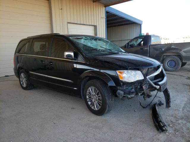 Salvage cars for sale from Copart San Antonio, TX: 2015 Chrysler Town & Country