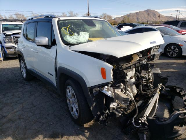 Salvage cars for sale from Copart Colton, CA: 2015 Jeep Renegade L