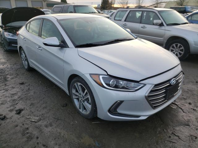 Salvage cars for sale from Copart Eugene, OR: 2017 Hyundai Elantra SE
