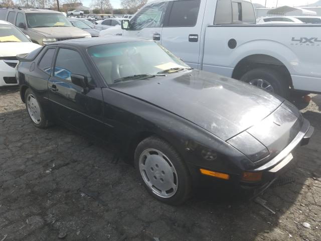 Salvage cars for sale from Copart Colton, CA: 1988 Porsche 944