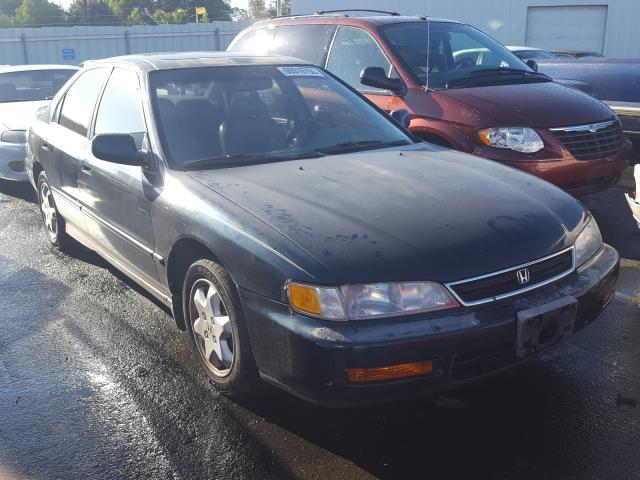 Salvage cars for sale from Copart Vallejo, CA: 1997 Honda Accord EX