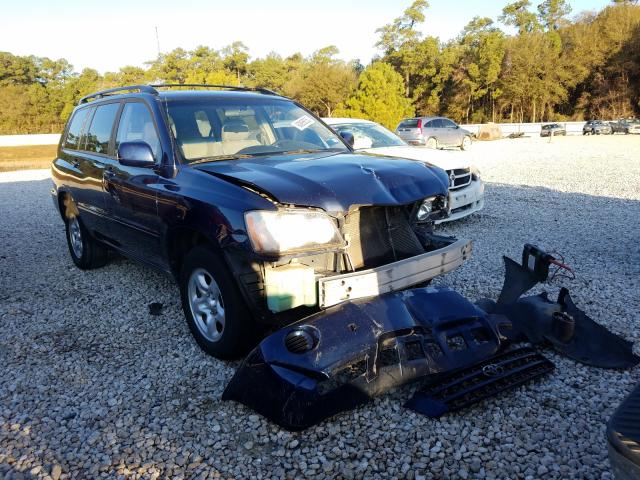 Salvage cars for sale from Copart Houston, TX: 2003 Toyota Highlander