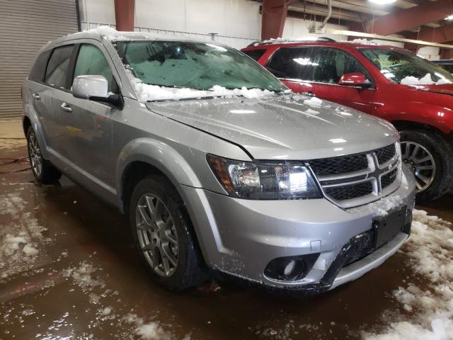 Salvage cars for sale from Copart Lansing, MI: 2019 Dodge Journey GT