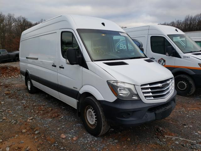 Salvage cars for sale from Copart York Haven, PA: 2015 Freightliner Sprinter 2