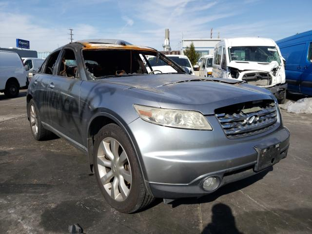 Salvage cars for sale from Copart Wilmington, CA: 2003 Infiniti FX35
