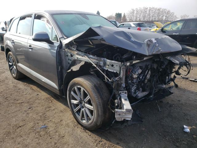 Audi Q7 salvage cars for sale: 2019 Audi Q7