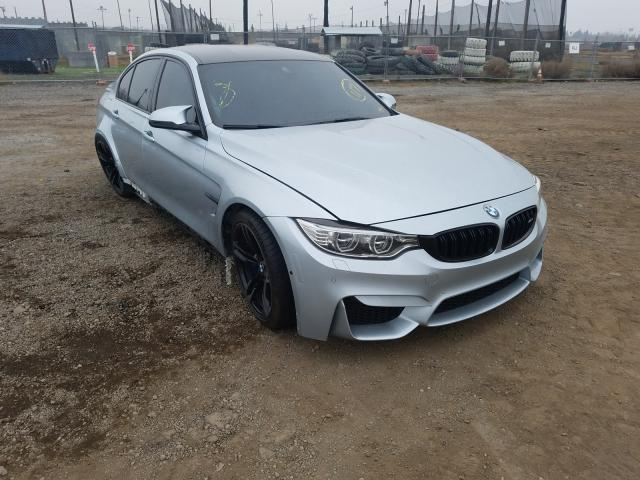 BMW M3 salvage cars for sale: 2016 BMW M3