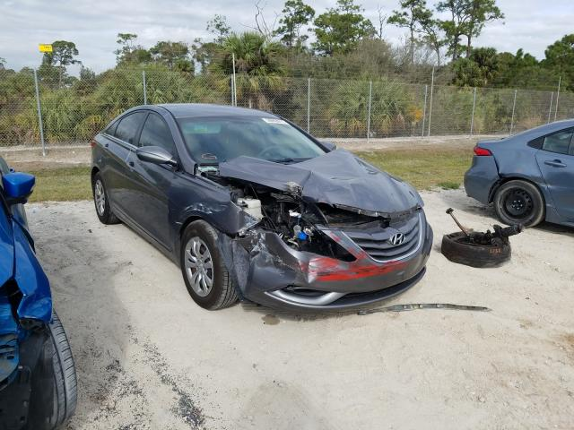 Salvage cars for sale from Copart Fort Pierce, FL: 2011 Hyundai Sonata GLS