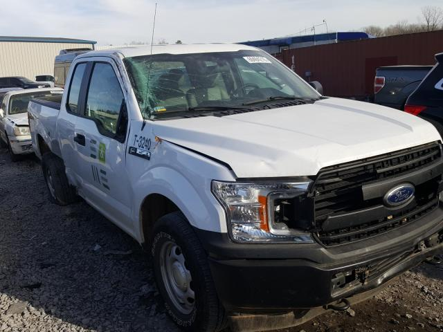 Salvage cars for sale from Copart Hueytown, AL: 2019 Ford F150 Super
