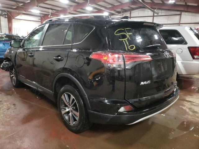2016 TOYOTA RAV4 XLE - Right Front View