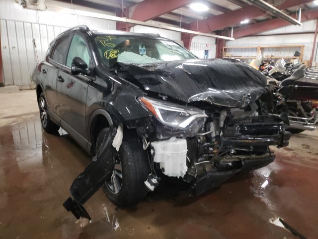 Salvage cars for sale from Copart Lansing, MI: 2016 Toyota Rav4 XLE