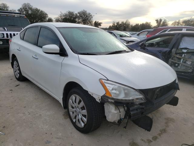 Salvage cars for sale from Copart Riverview, FL: 2014 Nissan Sentra S