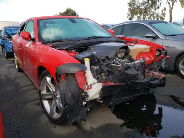 Salvage cars for sale from Copart Martinez, CA: 2017 Dodge Charger R