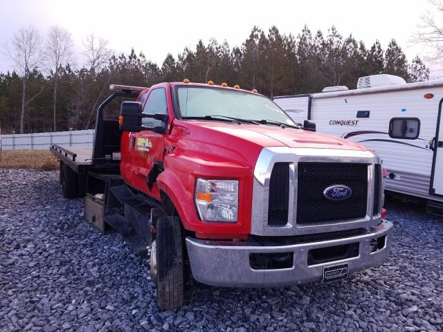 Salvage cars for sale from Copart Cartersville, GA: 2018 Ford F650 Super