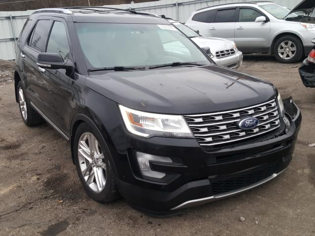 Salvage SUVs for sale at auction: 2016 Ford Explorer L