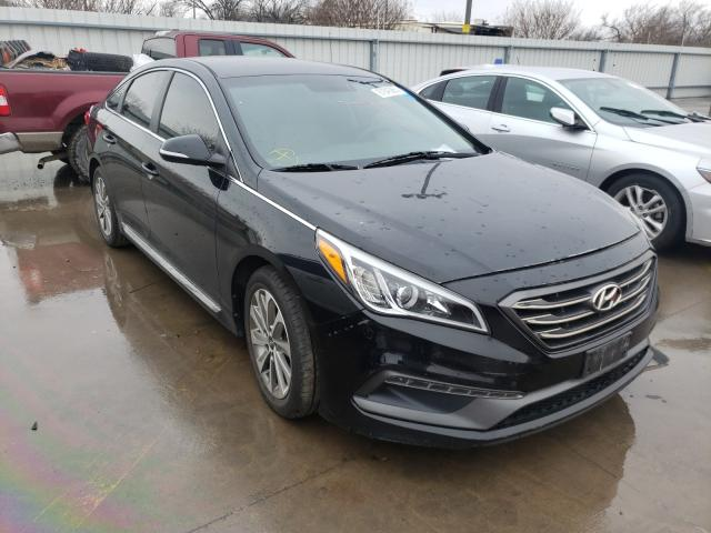 Salvage cars for sale from Copart Wilmer, TX: 2015 Hyundai Sonata Sport