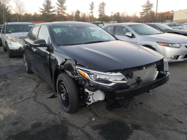 Salvage cars for sale from Copart Exeter, RI: 2020 KIA Optima LX