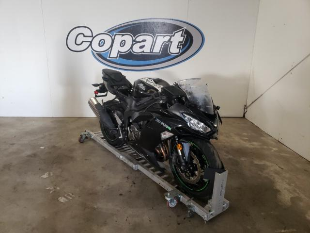 Salvage motorcycles for sale at Portland, OR auction: 2019 Kawasaki ZX636 K