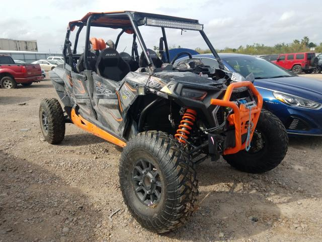 Salvage cars for sale from Copart Mercedes, TX: 2019 Polaris RZR XP 4 1