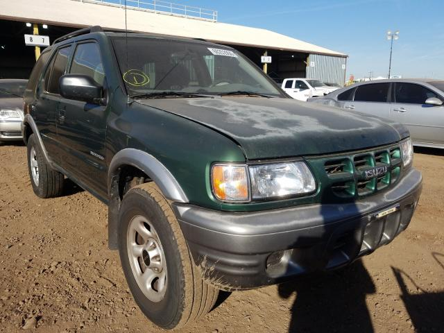 Isuzu Rodeo S salvage cars for sale: 2002 Isuzu Rodeo S