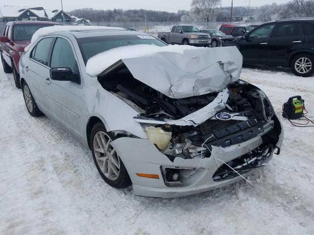 Salvage cars for sale from Copart Madison, WI: 2010 Ford Fusion SEL